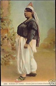 Jewish Woman, Juives Costumes, Hat 1910s JUDAICA, L.L.