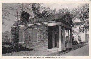 South Carolina Cheraw Cheraw Lyceum Building 1951