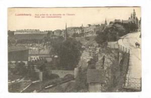 Vue Prise De La Descente De Clausen, Block Von Clausenerberg, Luxembourg, 190...