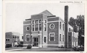 RANTOUL, Illinois, 1900-1910´s; Municipal Building