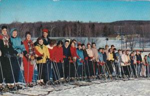 Ready For Ski Instruction At One Of Michigan's Ski Resorts