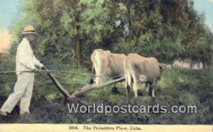 Republic of Cuba Primitive Plow  Primitive Plow