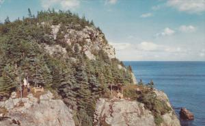 View , Cabot Trail , BLACK BROOK , Nova Scotia , Canada , PU-1957