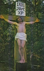 Arkansas Eureka Springs The Crucifixion The Great Passion Play