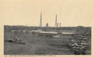 GREAT LAKES , Illinois, 1900-10s; Camp Decatur, Naval Training Station