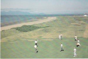 Post Card Scotland Ayrshire Royal Troon Golf Club 5th Green