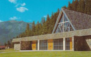Canada Our Lady Of Lourdes Catholic Church Jasper Alberta