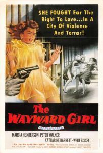 Film Movie Postcard The Wayward Girl 1957 Republic HUGE SIZE 205x140mm