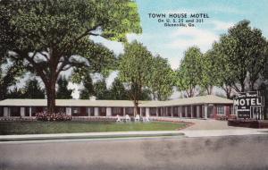 GLENNVILLE , Georgia , 1940-60s ; Town House Motel