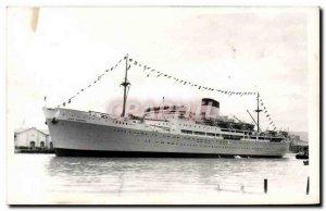 Postcard Old Ship Boat Jean Mermoz