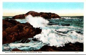 Massachusetts Gloucester Eastern Point Brace's Rock Curteich