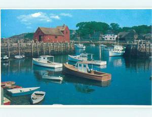 Pre-1980 HARBOR SCENE Rockport Massachusetts MA hp6955