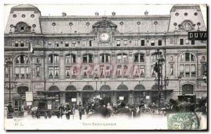 Paris - 8 - Gare Saint Lazare - Old Postcard