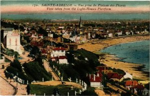 CPA Sainte-Adresse, Vue prise du Plateau des Phares (348390)