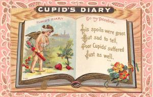 Victorian Valentine~Cupid's Diary~Spoil Was Great~Poor Cupid Bandaged~Langsdorf