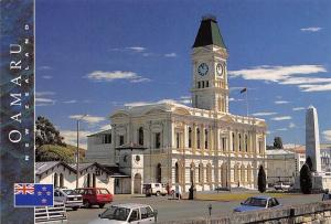 New Zealand The Waitaki District Council Offices Post Office Building Cars