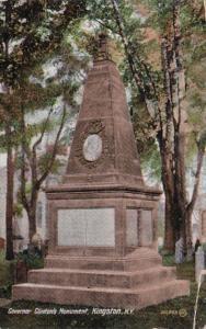 New York Kingston Governor Clinton's Monument 1909