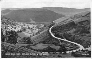 Wales Horse Shoe Horseshoe Pass, between Ruthin & Llangollen