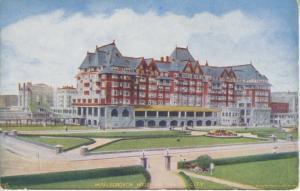Marlborough House Hotel ~ Atlantic City NJ New Jersey Vintage Postcard