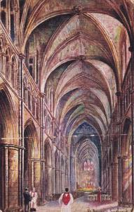 SOUTHWARK, London, England, United Kingdom; Interior, St. Savours, 00-10s