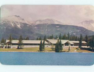 Unused Pre-1980 JASPER PARK LODGE MOTEL Jasper Alberta AB o0339