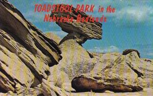 Toadstool Park In The Nebraska Badlands Nebaska