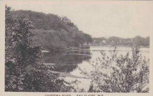 Wisconsin Eau Claire Chippwa River Albertype