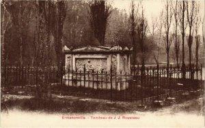 CPA Ermenonville- Tombeau de J.J. Rousseau FRANCE (1020478)