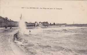 La Plage Un Jour De Tempete, La Rochelle (Charente-Maritime), France, 1900-1910s