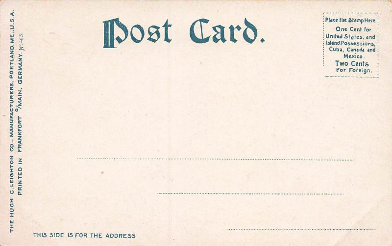 General Stark's House, Manchester, New Hampshire, early postcard, Unused