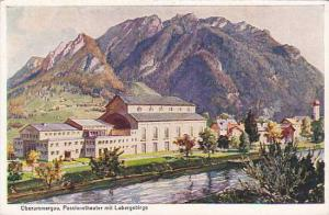 Passionstheater Mit Labergebirge, Oberammergau (Bavaria), Germany, 1910-1920s