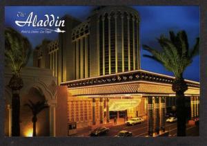 NV Aladdin Hotel & Casino LAS VEGAS NEVADA Postcard PC
