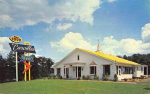 Union Connecticut Carvilles Restaurant Street View Vintage Postcard K68864
