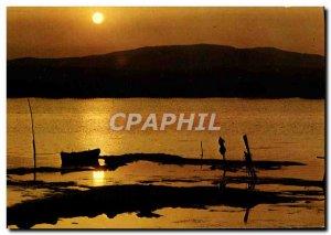 Postcard Modern Mediterranean Shores No Clouds In Softness & # 39Un Soir d & ...