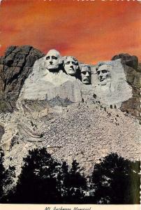 Mount Rushmore Highway 16A Keystone South Dakota 13000 SD-244 Postcard