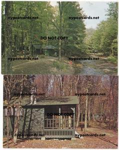 2 - Cabins in Quaker Run Area, Allegany State Park