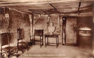 The Birthroom Shakespeare's House Stratford on Avon