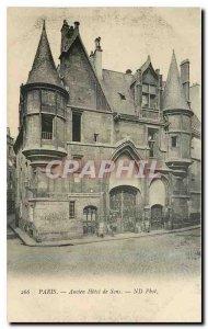 Old Postcard Paris Former Sens Hotel