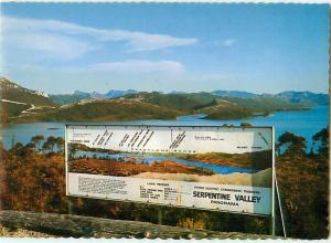 Strathgordon Tasmania Lake Pedder Serpentine Valley Hobart   Postcard  # 7087