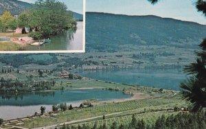OYAMA, British Columbia, Canada, 1950-1960s; Tween Lakes Resort, Kalamalka La...