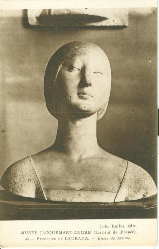 Musee Jacquemart-Andre, Francesco de Laurana, Buste de Femme