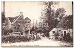 Postcard Old water mill Old Mill Mandres Rochopt