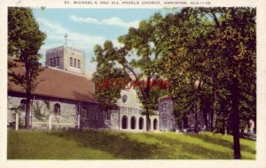 ST. MICHAEL'S AND ALL ANGELS CHURCH, ANNISTON, AL