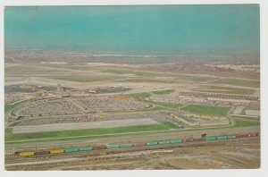 Cleveland, OH - Hopkins International Airport Postcard aerial view