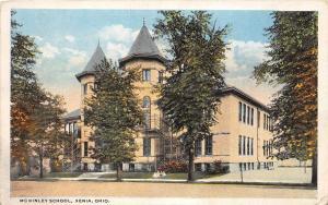 Ohio Postcard XENIA Greene County c1910 McKINLEY SCHOOL Building