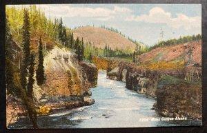 Mint USA Picture Postcard PPC Miles Canyon Alaska
