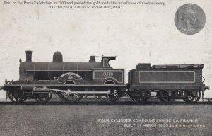 4 Cylinder Compound Engine LA FRANCE , London & North Western Railway Compa...
