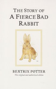 The Story of A Fierce Bad Rabbit Beatrix Potter Book Postcard