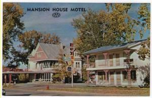 Buffalo, Wyoming,  Early View of Mansion House Motel