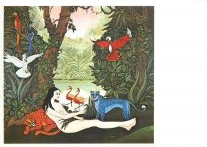 Inge Sigrid Micha Koeck art postcard